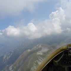 Flugwegposition um 10:19:05: Aufgenommen in der Nähe von Tragöß-Sankt Katharein, Österreich in 2121 Meter
