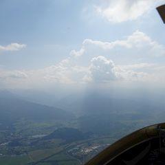 Flugwegposition um 12:07:45: Aufgenommen in der Nähe von Stainach-Pürgg, Österreich in 2150 Meter
