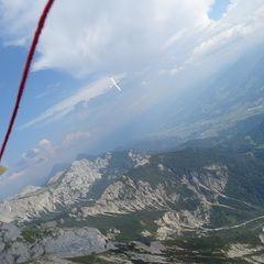 Flugwegposition um 12:27:21: Aufgenommen in der Nähe von Gemeinde Ramsau am Dachstein, 8972, Österreich in 2162 Meter