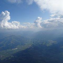 Flugwegposition um 13:38:40: Aufgenommen in der Nähe von Gemeinde Kirchdorf in Tirol, Österreich in 2824 Meter