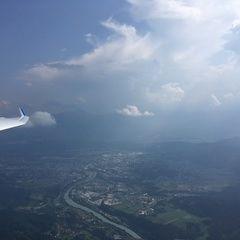 Verortung via Georeferenzierung der Kamera: Aufgenommen in der Nähe von Gemeinde Weißenstein, Österreich in 2000 Meter