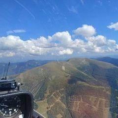 Verortung via Georeferenzierung der Kamera: Aufgenommen in der Nähe von Eppenstein, Österreich in 2400 Meter