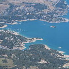 Flugwegposition um 11:57:02: Aufgenommen in der Nähe von Département Hautes-Alpes, Frankreich in 2371 Meter