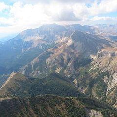 Flugwegposition um 12:29:20: Aufgenommen in der Nähe von Département Hautes-Alpes, Frankreich in 2386 Meter