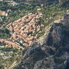 Flugwegposition um 15:40:41: Aufgenommen in der Nähe von Département Alpes-de-Haute-Provence, Frankreich in 1907 Meter
