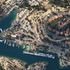 Flugwegposition um 15:17:14: Aufgenommen in der Nähe von Département Alpes-de-Haute-Provence, Frankreich in 1521 Meter