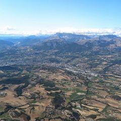Flugwegposition um 13:32:22: Aufgenommen in der Nähe von Département Hautes-Alpes, Frankreich in 2226 Meter