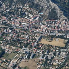 Flugwegposition um 14:02:47: Aufgenommen in der Nähe von Département Hautes-Alpes, Frankreich in 2324 Meter