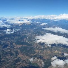 Flugwegposition um 15:19:46: Aufgenommen in der Nähe von Département Hautes-Alpes, Frankreich in 5288 Meter