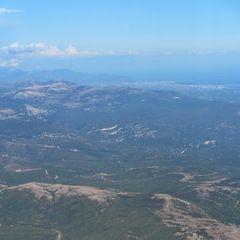 Flugwegposition um 16:10:25: Aufgenommen in der Nähe von Département Var, Frankreich in 2505 Meter