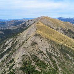 Flugwegposition um 12:53:09: Aufgenommen in der Nähe von Département Alpes-de-Haute-Provence, Frankreich in 1966 Meter