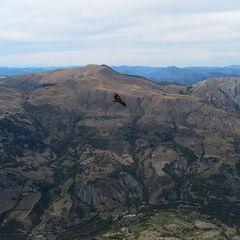 Flugwegposition um 13:07:29: Aufgenommen in der Nähe von Département Alpes-de-Haute-Provence, Frankreich in 2150 Meter