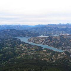 Flugwegposition um 13:28:34: Aufgenommen in der Nähe von Département Alpes-de-Haute-Provence, Frankreich in 2584 Meter