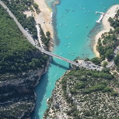 Flugwegposition um 14:20:06: Aufgenommen in der Nähe von Département Alpes-de-Haute-Provence, Frankreich in 1450 Meter