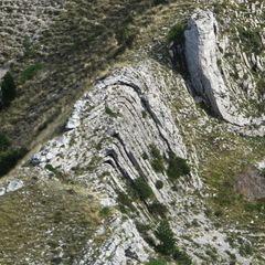 Flugwegposition um 14:46:56: Aufgenommen in der Nähe von Département Alpes-de-Haute-Provence, Frankreich in 1699 Meter