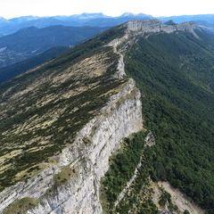 Flugwegposition um 14:47:42: Aufgenommen in der Nähe von Département Alpes-de-Haute-Provence, Frankreich in 1751 Meter