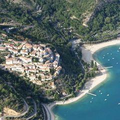 Flugwegposition um 15:40:47: Aufgenommen in der Nähe von Département Alpes-de-Haute-Provence, Frankreich in 1003 Meter