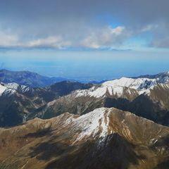 Flugwegposition um 12:51:36: Aufgenommen in der Nähe von Département Hautes-Alpes, Frankreich in 3461 Meter