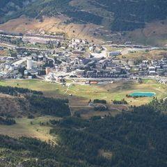 Flugwegposition um 13:07:31: Aufgenommen in der Nähe von 10060 Pragelato, Turin, Italien in 3108 Meter