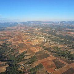 Flugwegposition um 16:29:43: Aufgenommen in der Nähe von Département Alpes-de-Haute-Provence, Frankreich in 1417 Meter