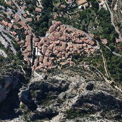 Flugwegposition um 12:24:50: Aufgenommen in der Nähe von Département Alpes-de-Haute-Provence, Frankreich in 1663 Meter