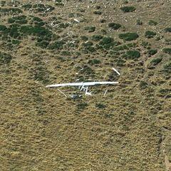 Flugwegposition um 13:04:31: Aufgenommen in der Nähe von Département Alpes-de-Haute-Provence, Frankreich in 2064 Meter