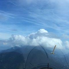 Flugwegposition um 10:59:34: Aufgenommen in der Nähe von 33018 Tarvis, Udine, Italien in 1826 Meter