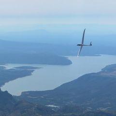 Flugwegposition um 12:06:41: Aufgenommen in der Nähe von Département Alpes-de-Haute-Provence, Frankreich in 1878 Meter