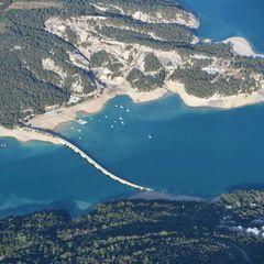 Flugwegposition um 15:50:39: Aufgenommen in der Nähe von Département Hautes-Alpes, Frankreich in 2027 Meter