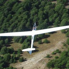 Flugwegposition um 13:29:43: Aufgenommen in der Nähe von Département Alpes-de-Haute-Provence, Frankreich in 2869 Meter