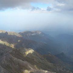 Flugwegposition um 14:27:10: Aufgenommen in der Nähe von Département Hautes-Alpes, Frankreich in 3954 Meter