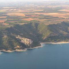 Flugwegposition um 16:41:33: Aufgenommen in der Nähe von Département Alpes-de-Haute-Provence, Frankreich in 991 Meter