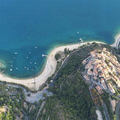 Flugwegposition um 16:39:09: Aufgenommen in der Nähe von Département Alpes-de-Haute-Provence, Frankreich in 1104 Meter