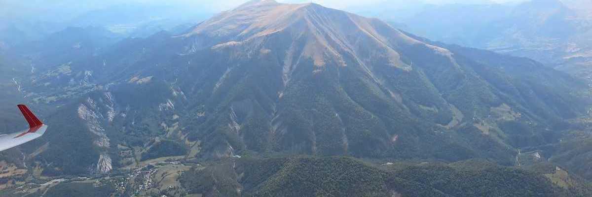 Flugwegposition um 13:10:29: Aufgenommen in der Nähe von Département Alpes-de-Haute-Provence, Frankreich in 2764 Meter