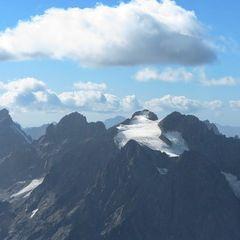 Flugwegposition um 14:21:25: Aufgenommen in der Nähe von Département Hautes-Alpes, Frankreich in 3803 Meter