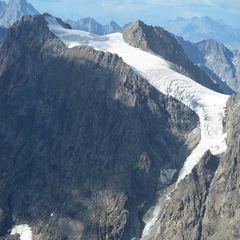 Flugwegposition um 14:17:58: Aufgenommen in der Nähe von Département Hautes-Alpes, Frankreich in 3948 Meter