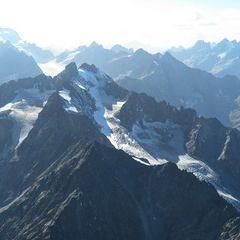 Flugwegposition um 14:26:03: Aufgenommen in der Nähe von Département Hautes-Alpes, Frankreich in 3642 Meter