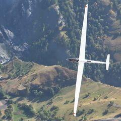 Flugwegposition um 14:49:18: Aufgenommen in der Nähe von Département Hautes-Alpes, Frankreich in 3545 Meter