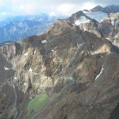 Flugwegposition um 15:03:32: Aufgenommen in der Nähe von Isère, Frankreich in 3385 Meter