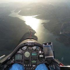 Flugwegposition um 16:00:26: Aufgenommen in der Nähe von Département Hautes-Alpes, Frankreich in 2817 Meter