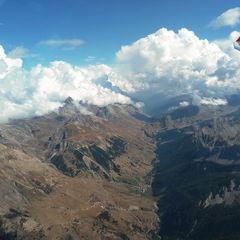 Flugwegposition um 13:09:18: Aufgenommen in der Nähe von Département Alpes-de-Haute-Provence, Frankreich in 3576 Meter