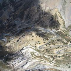 Flugwegposition um 13:38:11: Aufgenommen in der Nähe von Département Hautes-Alpes, Frankreich in 3712 Meter