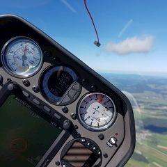 Flugwegposition um 11:15:09: Aufgenommen in der Nähe von Waldburg, Österreich in 1699 Meter