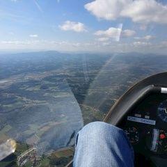 Flugwegposition um 12:54:00: Aufgenommen in der Nähe von Gemeinde Ilztal, Österreich in 1501 Meter