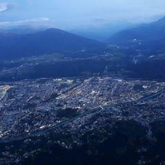 Flugwegposition um 17:13:00: Aufgenommen in der Nähe von Innsbruck, Österreich in 1781 Meter