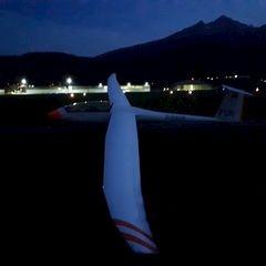 Flugwegposition um 17:29:37: Aufgenommen in der Nähe von Innsbruck, Österreich in 632 Meter