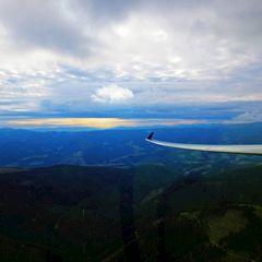Flugwegposition um 14:05:03: Aufgenommen in der Nähe von Pack, Österreich in 1861 Meter