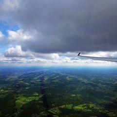 Flugwegposition um 10:31:10: Aufgenommen in der Nähe von Gemeinde Thannhausen, 8160, Österreich in 1447 Meter
