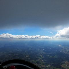 Flugwegposition um 10:39:46: Aufgenommen in der Nähe von Gemeinde Stubenberg am See, Österreich in 1714 Meter