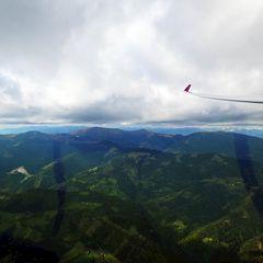Flugwegposition um 13:01:48: Aufgenommen in der Nähe von Gemeinde Köflach, Köflach, Österreich in 1728 Meter